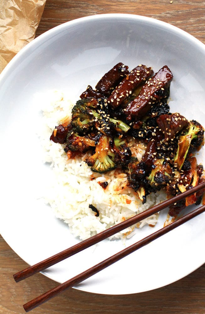 Asian Beef and Broccoli