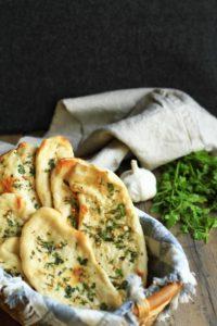 Garlic Cilantro Naan