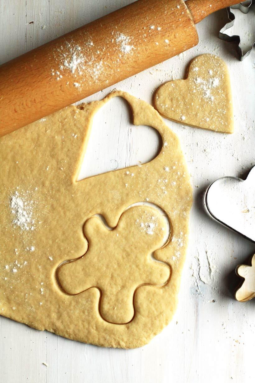 Norwegian Christmas Men Cookies (Julemenn) - Ginger with Spice