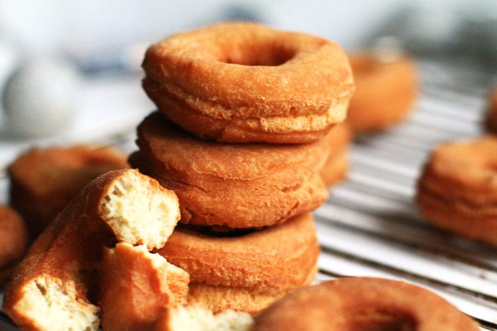 Crispy Cream Doughnut Cake