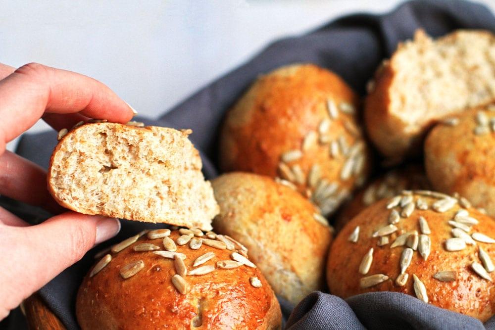 Whole Wheat Bread Rolls