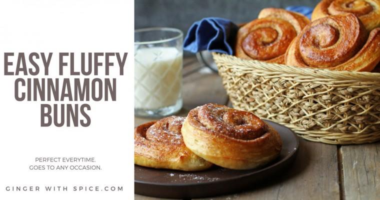 Best Ever Easy Fluffy Cinnamon Rolls