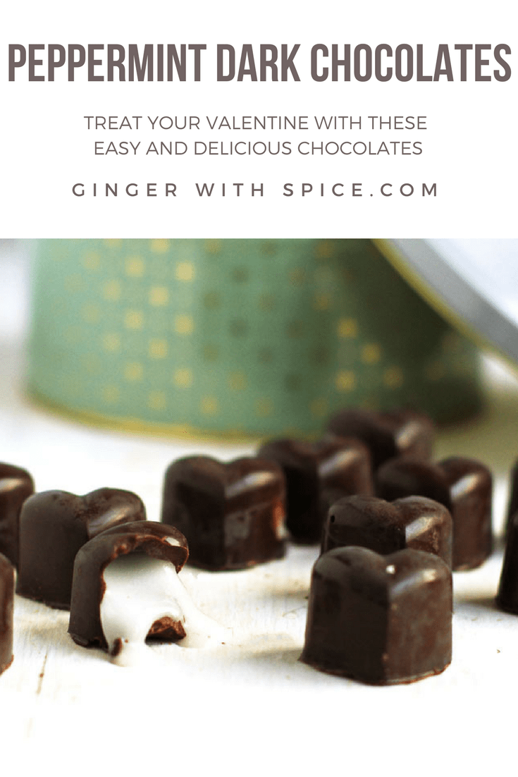 Peppermint Dark Chocolates