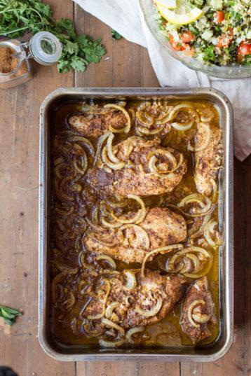 Chicken Shawarma Recipe + Shawarma Seasoning