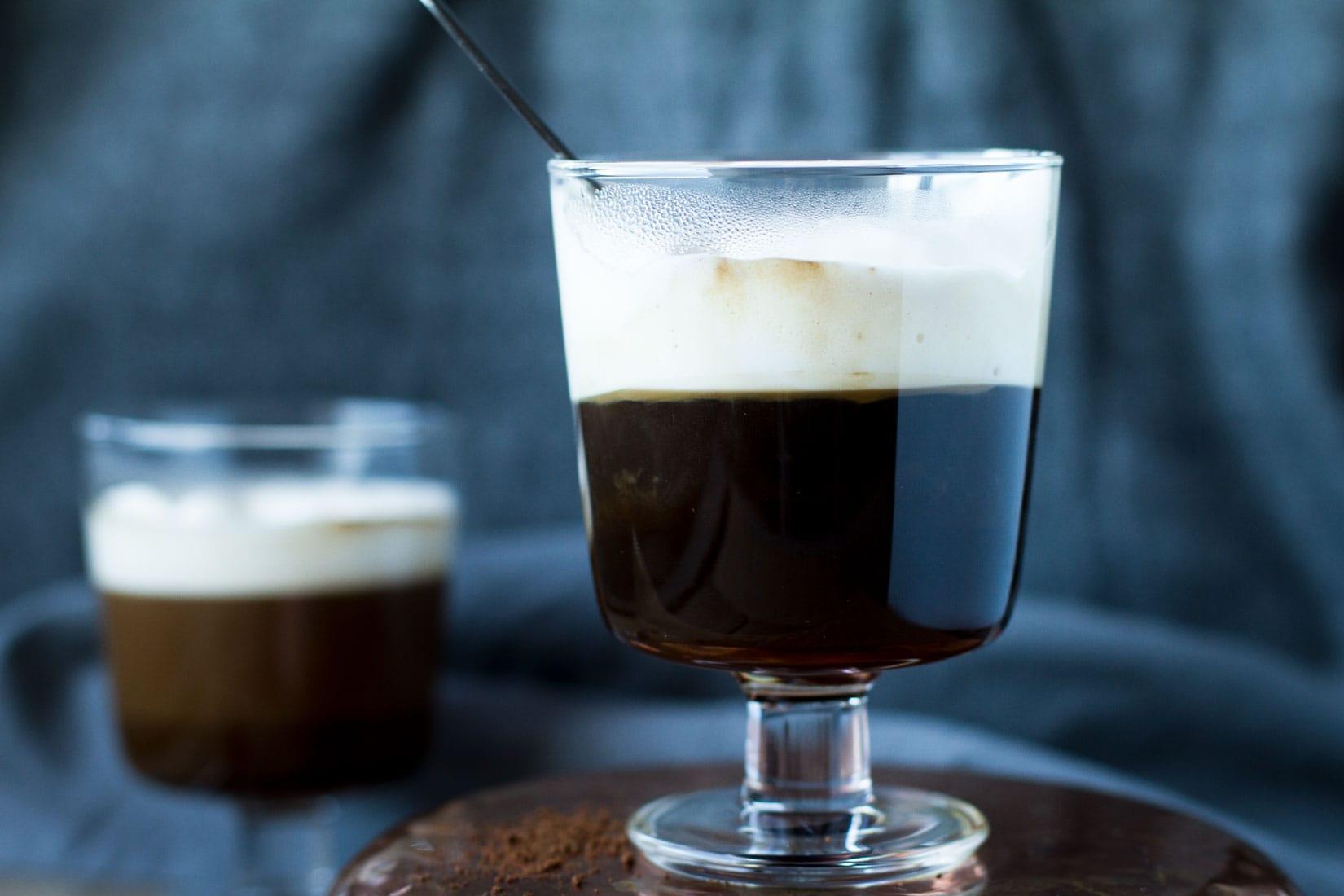 Classic Irish Coffee for St. Patrick's Day