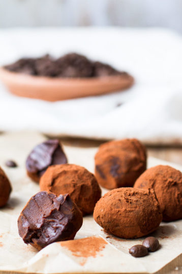 Dreamy Creamy Chocolate Coffee Truffles