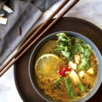 Vegan Thai Lemongrass Noodle Soup