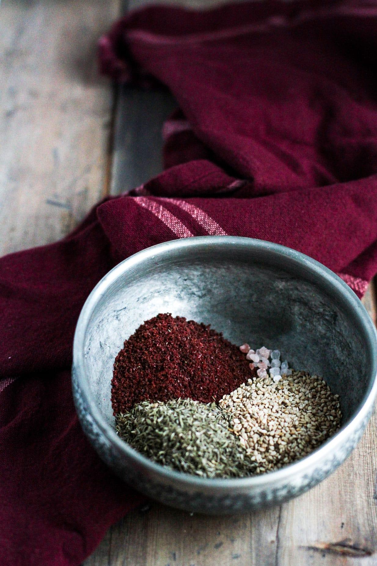 Homemade Za'atar Spice Blend