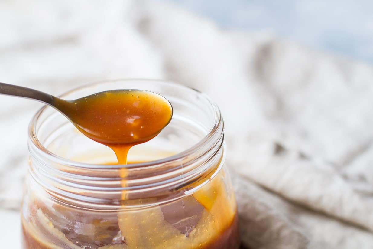Delicious 10 Minute Salted Caramel Sauce