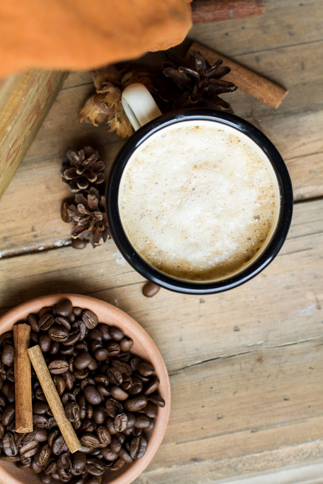 Easy Homemade Blender Pumpkin Spice Latte