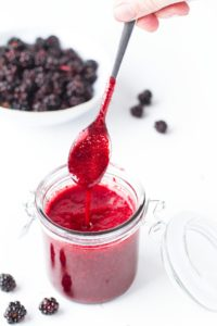 Easy Delicious Blackberry Syrup