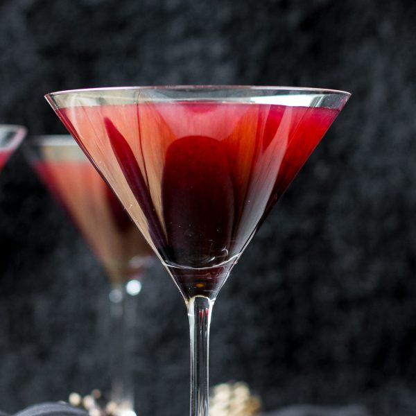 Poison Blackberry Martini