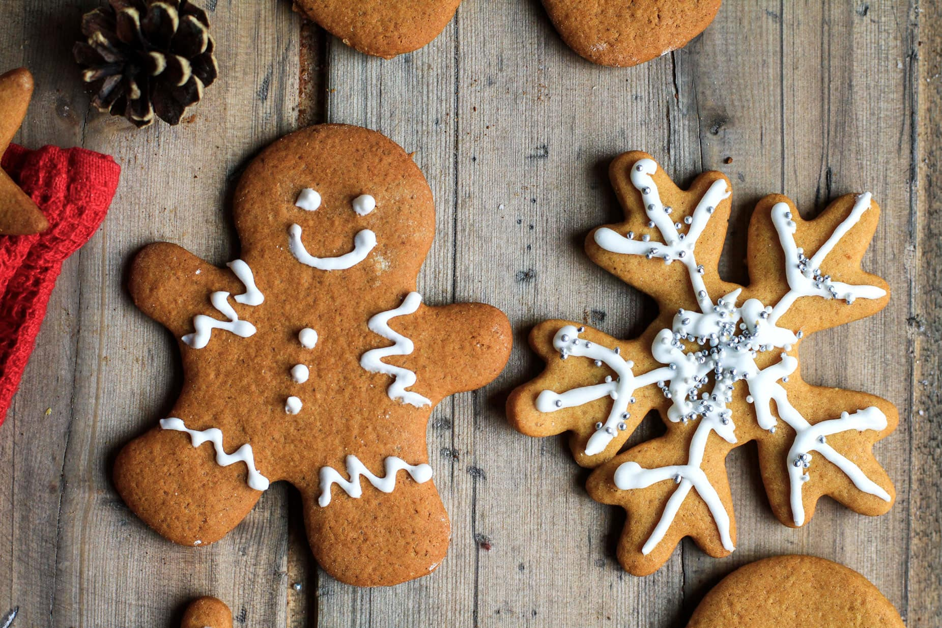 Norwegian Gingerbread Cookies (pepperkaker)