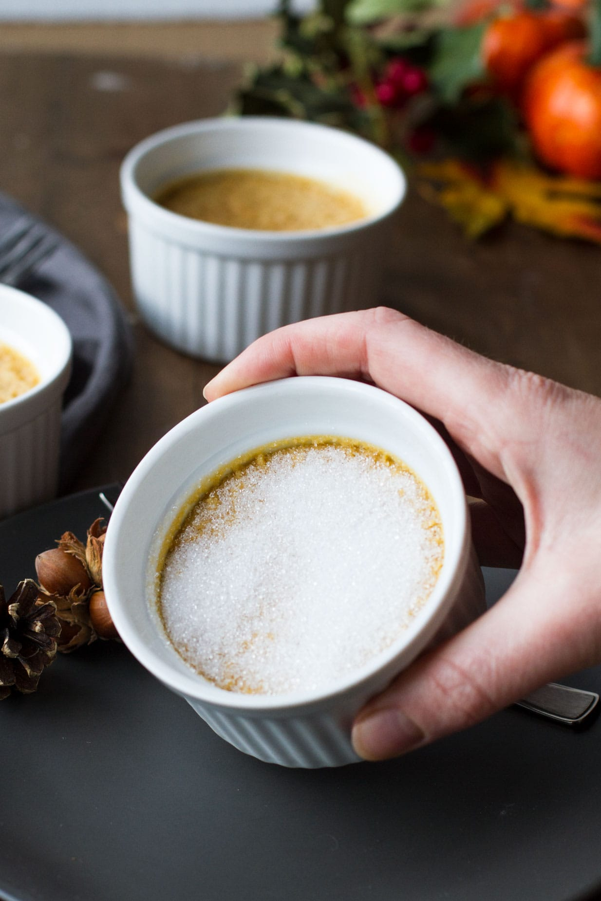 Pumpkin Creme Brulee (Small Batch)