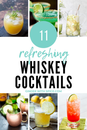 11 Refreshing Whiskey Cocktails to Celebrate St. Patrick's Day in Style!
