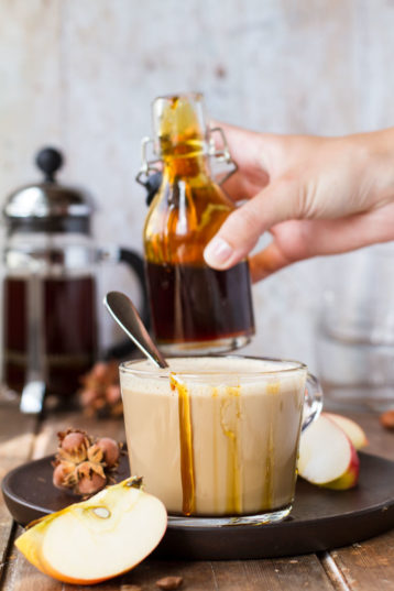 Apple Caramel Latte Macchiato Recipe