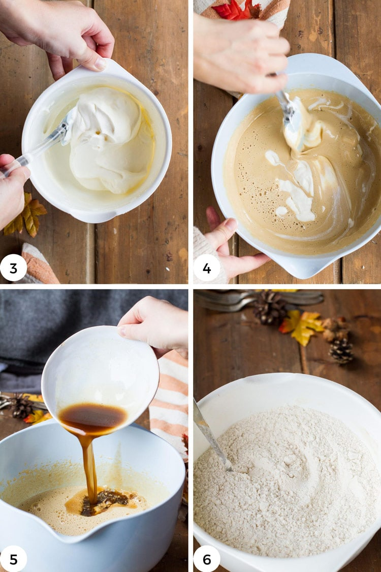 How to make apple cider donuts steps.