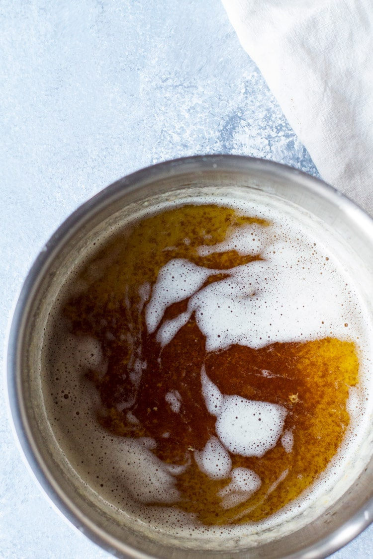 How to brown butter.