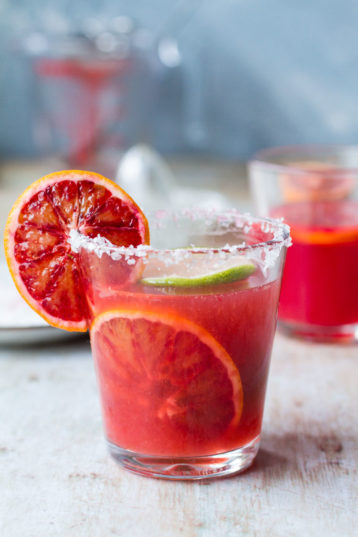 Blood Orange Margarita Cocktail (+ Classic Recipe)