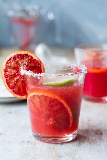 Blood Orange Margarita Cocktail (+ Classic Recipe)