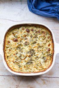 Herby Cheesy Scalloped Potatoes Recipe (Au Gratin)