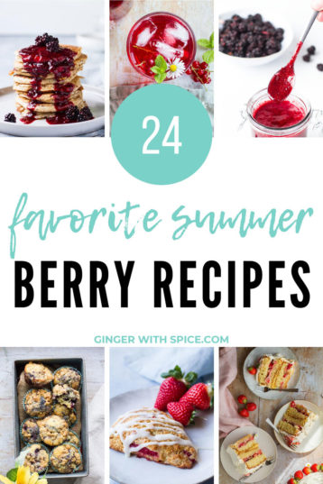 24 Favorite Summer Berry Recipes